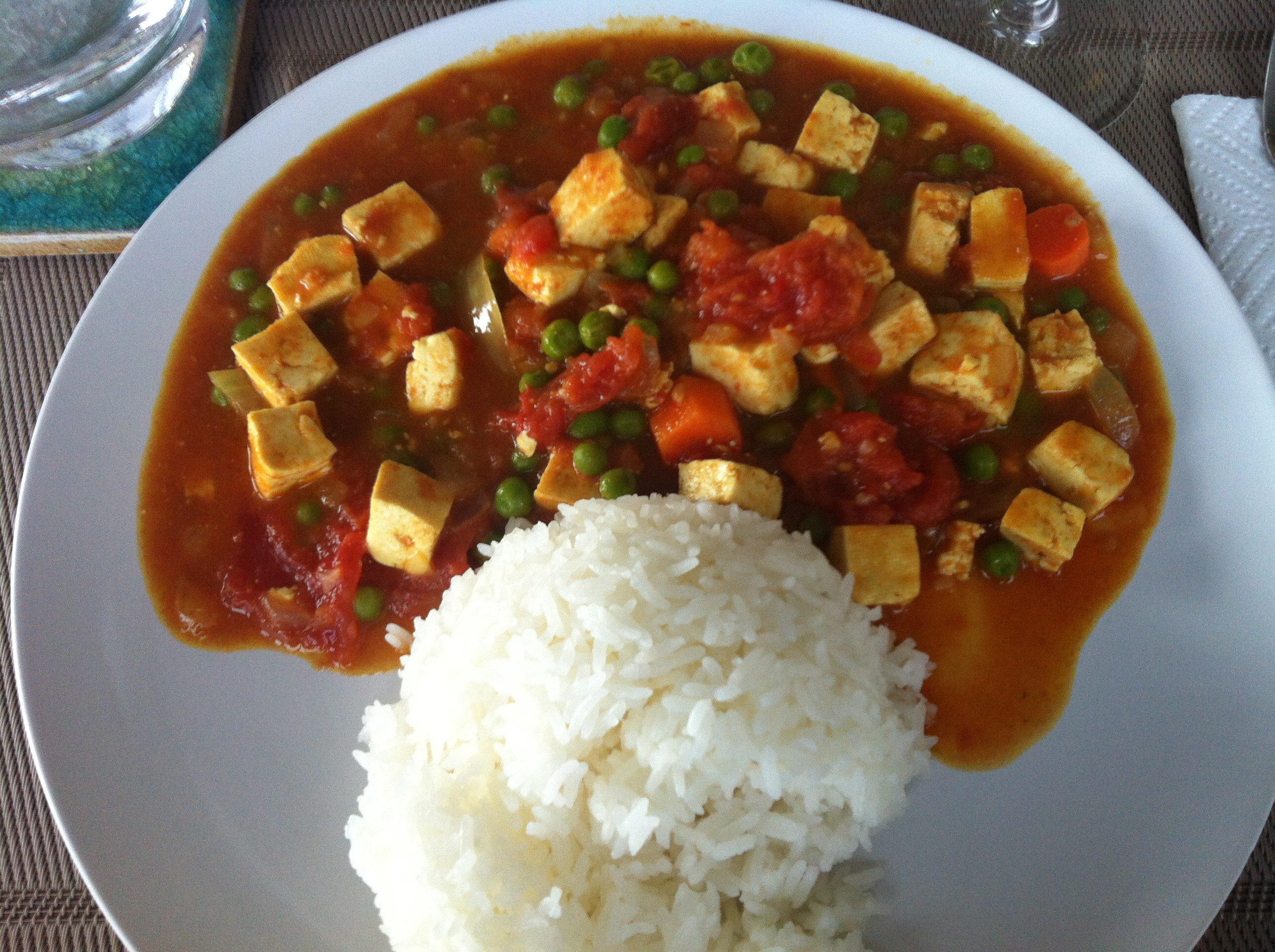 Dining in: Coconut Tofu Keema